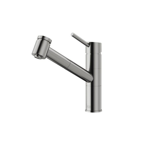 Vigo Vg02021 Branson Pull Out Spray Kitchen Faucet