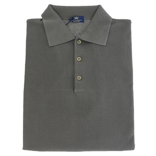 Real Cashmere Polo Big Mens Taupe Sweater