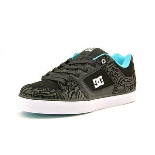 DC Shoes Pure XE Round Toe Leather Skate Shoe