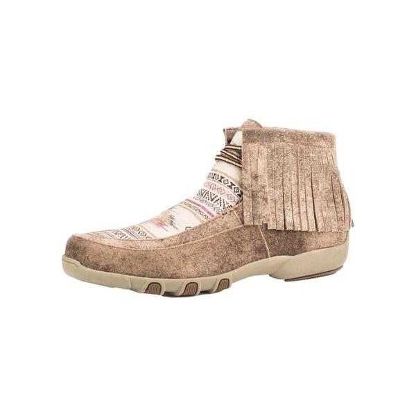 Roper Western Shoes Womens Santa Fe Aztec Tan