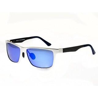Breed Vulpecula Men's Titanium Sunglasses - 100% UVA/UVB Prorection - Polarized/Mirrored/Gradient Lens - Multi