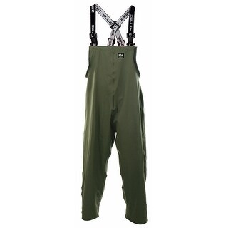 Helly Hansen Workwear Mens Abbotsford Double Bib Pant - Army Green - L