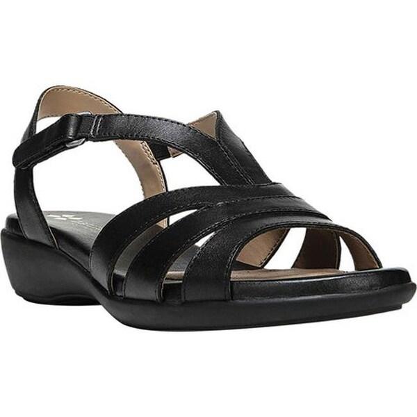 d198d6a9315a5 Shop Naturalizer Women s Neina Strappy Sandal Black Leather - Free ...