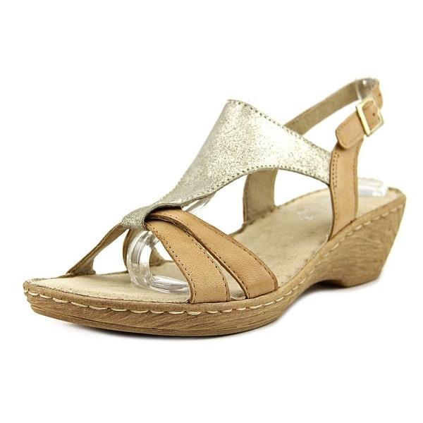 Bella Vita Gubbio W Open Toe Leather Wedge Sandal