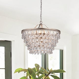 Link to Aura 6-Light Crystal Chandelier Similar Items in As Is
