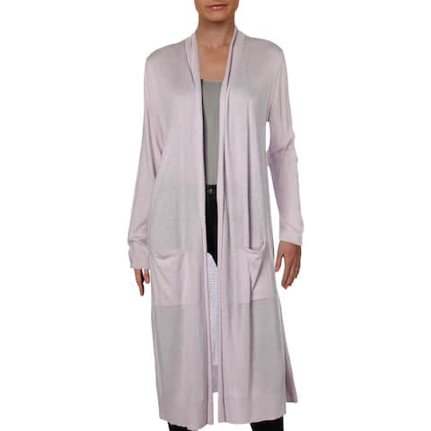 Nic + Zoe Womens Traveler Duster Sweater Cashmere Blend Open Front