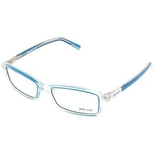 Just Cavalli JC0531/V 26A Clear/Aqua Rectangle Optical Frames - 54-17-140