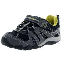 Stride Rite Boys Srt Palmer Fashion Sneakers - Navy/Grey - 4 m us toddler