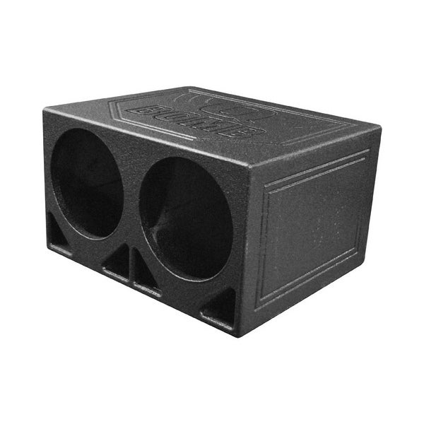 "Qpower Dual 10"" Turbo Ported Box"