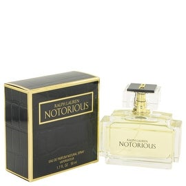 Eau De Parfum Spray 1.7 oz Notorious by Ralph Lauren - Women