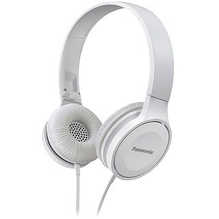 Panasonic Lightweight On-Ear Headphones (White)