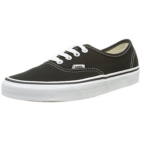 Vans Unisex U AUTHENTIC, Black, 7.5