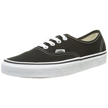 Vans Unisex U Authentic, Black, 8.5