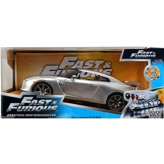 Fast & Furious 1:18 Die-Cast Vehicle: '09 Nissan GT-R Candy Silver