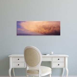 Easy Art Prints Panoramic Images's 'Clouds' Premium Canvas Art