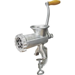 Weston Products #10 Manual Meat Grinder 36-1001-W Unit: EACH