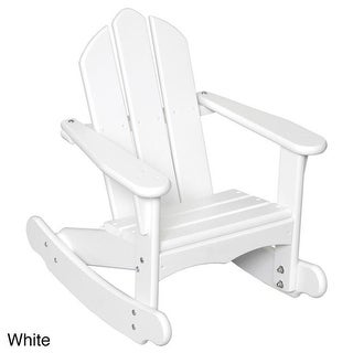 Little Colorado 141SW Childs Adirondack Rocking Chair, White
