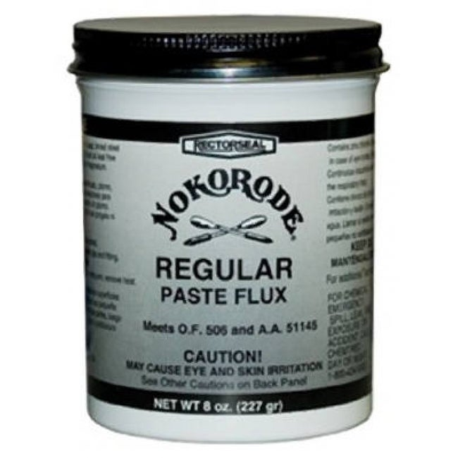 Rectorseal 14020 Nokorode Regular Paste Flux, 8 oz