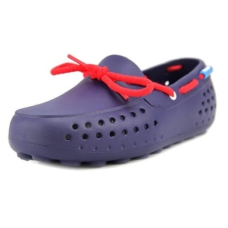 People Footwear The Senna Youth Moc Toe Synthetic Blue Loafer