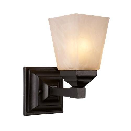 Trans Globe Lighting 20331 Mission Hall 1 Light Bathroom Sconce