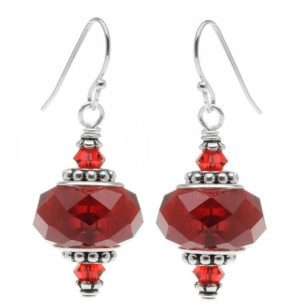 Talia Earrings (red) - Exclusive Beadaholique Jewelry Kit