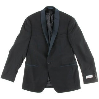 Ryan Seacrest Mens 03 Slim Fit Wool One-Button Suit Jacket