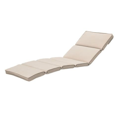 Outdoor Patio Chaise Lounge Cushion