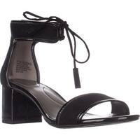 Bandolino Semise Dress Ankle Strap Sandals, Black/Black