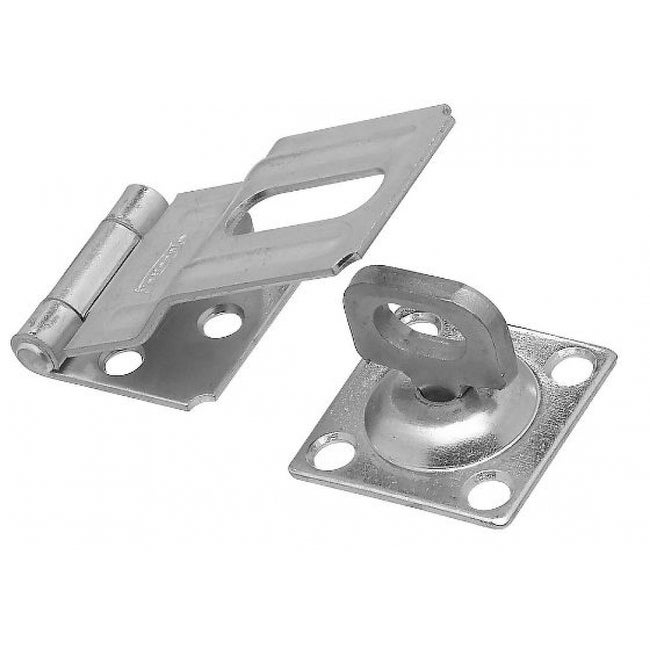 National Hardware N102-855 Swivel Safety Hasp, 3-1/4, Zinc Plated