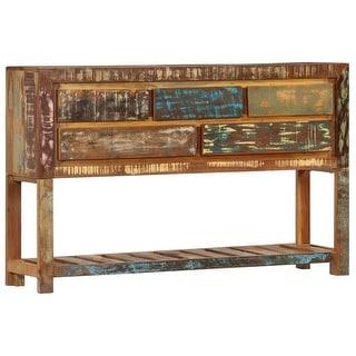 """vidaXL Sideboard 47.2""""x11.8""""x29.5"""" Solid Reclaimed Wood"""