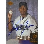 Jesus Colome Tampa Bay Devil Rays 2001 Upper Deck Star Rookie Autographed Card This item comes wit