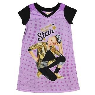 Nickelodeon JoJo Siwa Little Girls' Be Your Own Star Nightgown