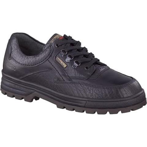 Mephisto Men's Barracuda GORE-TEX Walking Shoe Black Full Grain Leather/Smooth Leather
