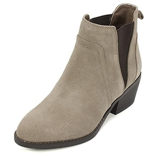 White Mountain Womens Hale Ankle Boots Suede