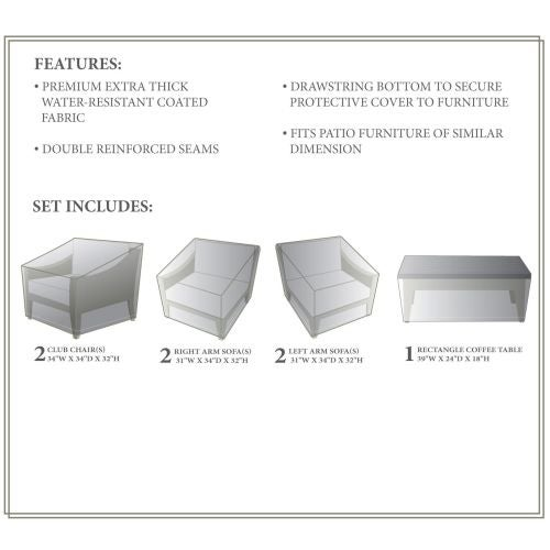 Miseno Mpf Mhtn07cwc Nyc 7 Piece Canvas Winter Cover For The Mhtn07c Outdoor Conversation Set Free Shipping Today 13055701