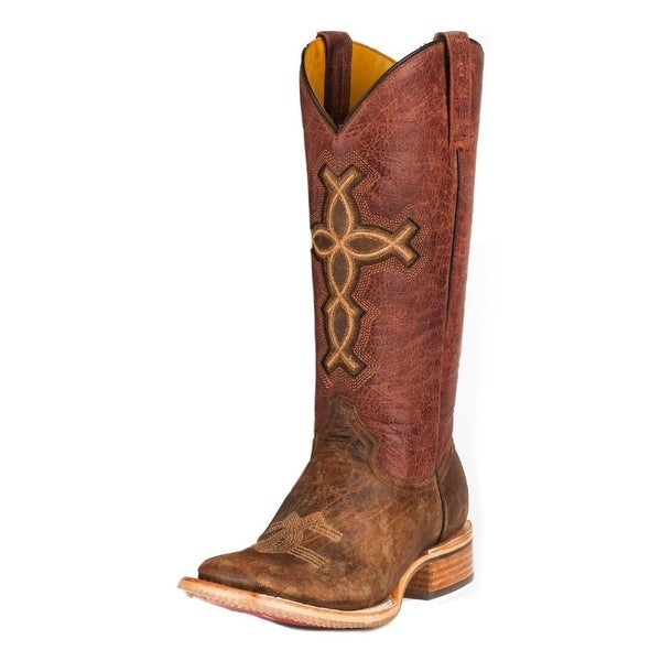 Tin Haul Western Boots Womens I Believe B Brown