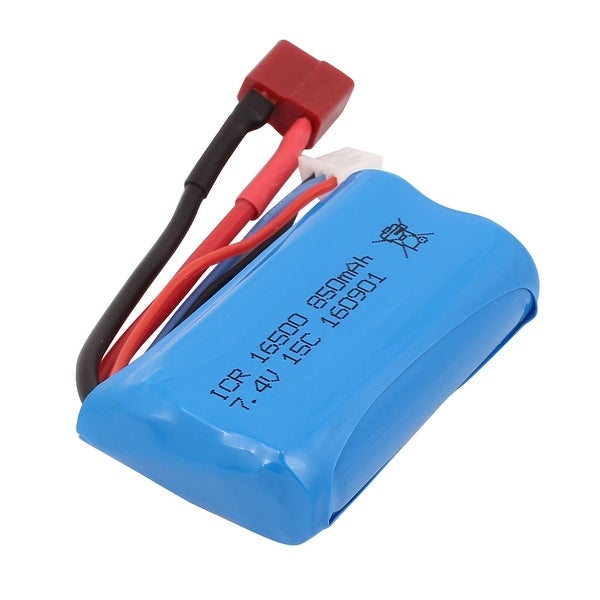 T Plug 7.4V 850mAh Rechargeable Lithium Polymer Li-ion Battery for RC Aircraft