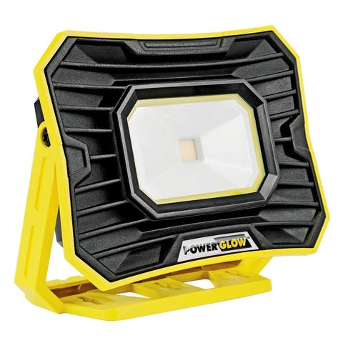 PowerGlow Portable 1500 Lumens LED Rechargeable Light, Work Light, Power Bank