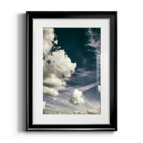 The Clouds Above Premium Framed Print - Ready to Hang