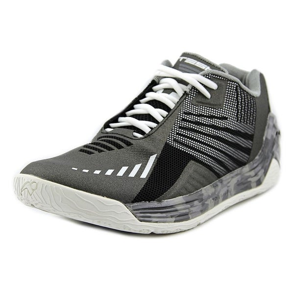 Tesh Terrestrial Men Round Toe Synthetic Black Basketball Shoe