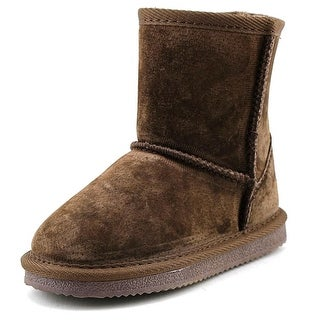 Lamo Kids Classic Boot Toddler Round Toe Suede Brown Winter Boot