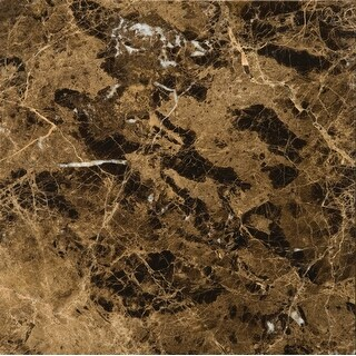 "Emser Tile M11EMPE1818  Marble - 18"" x 18"" Square Floor and Wall Tile - Polished Marble Visual - Marrone Emperador Dark"