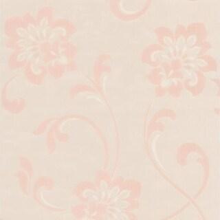 Brewster DL30650 Sharon Pearl Jacobean Floral Wallpaper