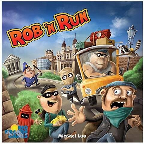 Rio Grande Games Rob N Run Game Board