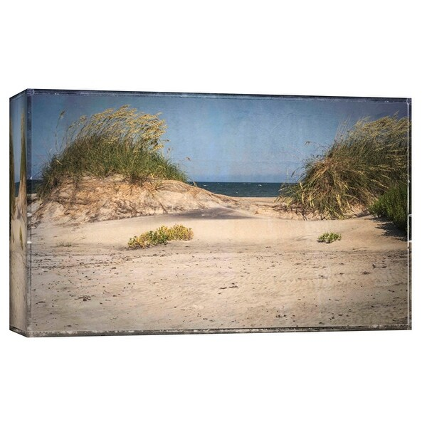 """PTM Images 9-103787 PTM Canvas Collection 8"""" x 10"""" - """"Pea Island Sand Dunes"""" Giclee Beaches Art Print on Canvas"""