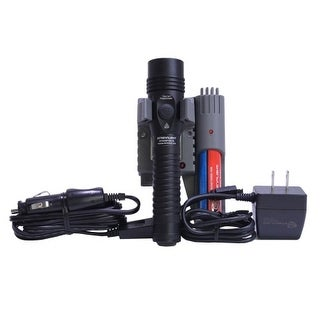 Streamlight SG74619 HL Strion Black Dual Switch Flashlight with Piggyback Charger