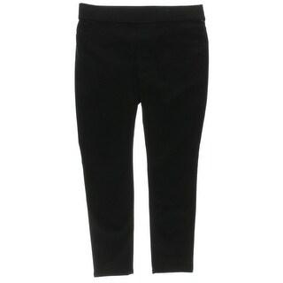 LRL Lauren Jeans Co. Womens Modern Legging Denim Leggings Skinny Leg Flat Front - 14