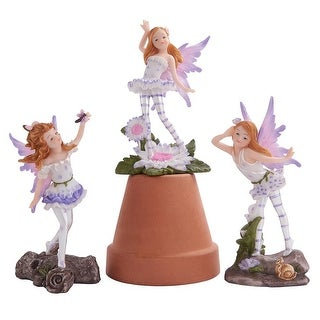 Design Toscano Honey Bunch Miniature Fairy Collection