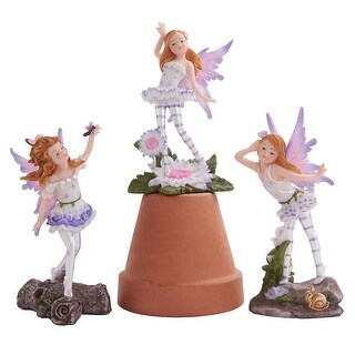 Design Toscano Honey Bunch Miniature Fairy Collection