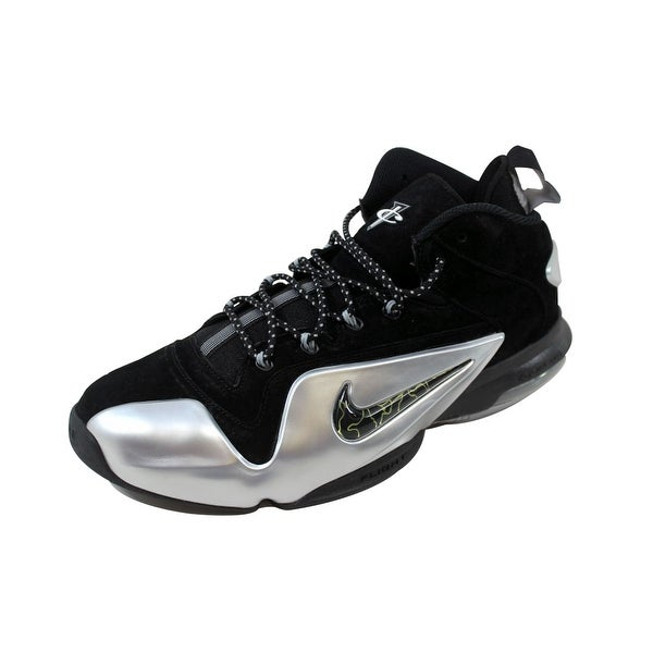 0ba5753b8825 Shop Nike Men s Zoom Penny VI 6 Black Metallic Silver 749629-002 ...